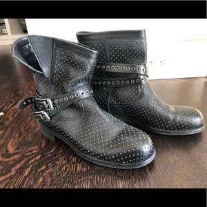 Jimmy Choo RARE Studded Biker Boots